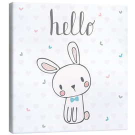 Toile  Hello petit lapin - Kidz Collection