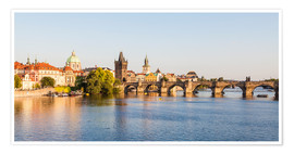 Poster  Charles Bridge in Prague - Dieterich Fotografie