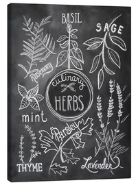 Toile  30743 Herbs - Lily & Val
