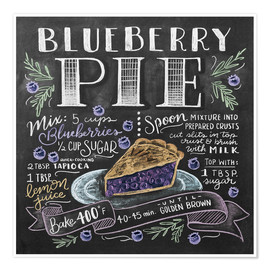 Poster  30475 blueberrypie - Lily & Val