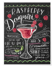 Poster  30256 raspberrydaiquiri - Lily & Val