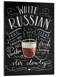 Verre acrylique  30259 whiterussian - Lily & Val