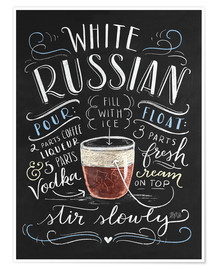 Poster  30259 whiterussian - Lily & Val
