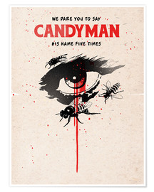 Poster  Alternative candyman movie art print - 2ToastDesign
