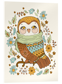 Verre acrylique  Autumn owl - Kidz Collection