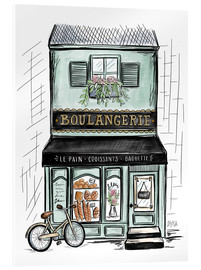 Verre acrylique  French Shop Front - Boulangerie - Lily & Val