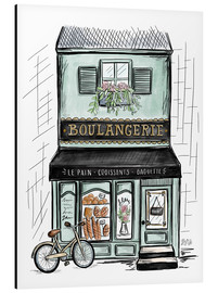 Alu-Dibond  French Shop Front - Boulangerie - Lily & Val