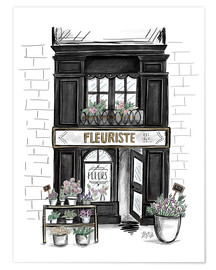 Poster  Fleuriste - Lily & Val