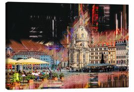 Tableau sur toile  The new old Fauenkirche in Dresden - Peter Roder