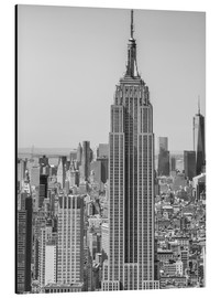 Alu-Dibond  New York City aerial skyline
