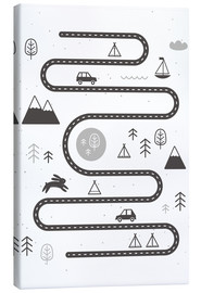 Toile  Une route sinueuse - Kidz Collection