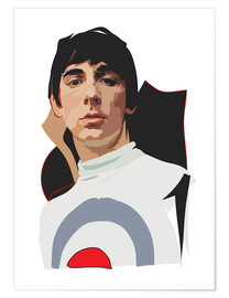 Poster  Keith Moon - Anna McKay