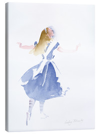 Toile  Alice in Profile - Lesley Fotherby