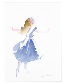 Poster  Alice in Profile - Lesley Fotherby