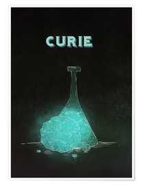 Poster  Marie Curie - RNDMS
