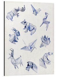 Alu-Dibond  Origami animals - Jennifer McLennan