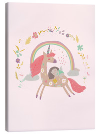 Tableau sur toile  Girl from fairytale - Kidz Collection
