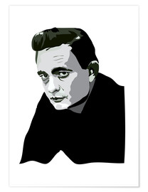 Poster  Johnny Cash - Anna McKay