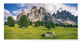 Poster  Summer in the Dolomite Alps - Achim Thomae