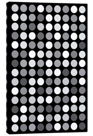 Tableau sur toile  GREYS BLACK - THE USUAL DESIGNERS