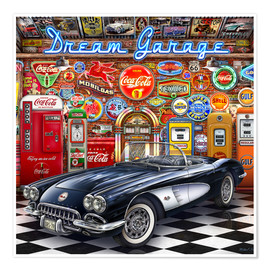 Poster Dream Garage
