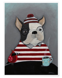 Poster Boston Terrier