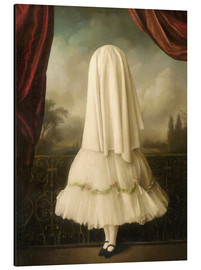 Tableau en aluminium  Une fille invisible - Stephen Mackey