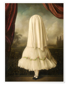 Poster  Une fille invisible - Stephen Mackey