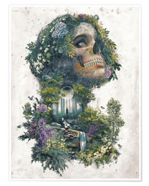 Poster Life and Death Surrealism