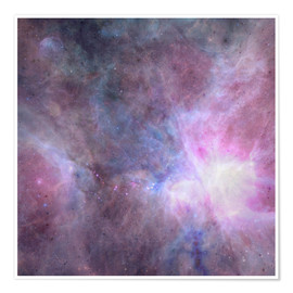 Poster  The Purple Density Of The Universe - Barruf
