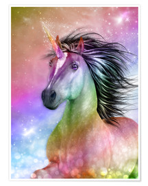 Poster  Licorne authentique - Dolphins DreamDesign