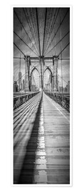 Melanie Viola - NEW YORK CITY Brooklyn Bridge Panorama