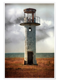 Poster On old light house in Estonia
