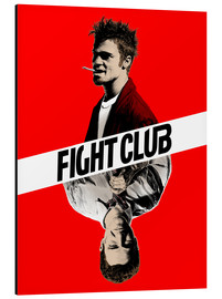 Tableau en aluminium  Fight club, double face - Paola Morpheus