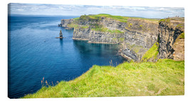 Toile  The famous Cliffs of Moher in Ireland