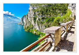 Summer view over Lake Garda