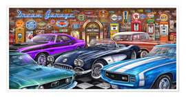 Poster Dream Garage II