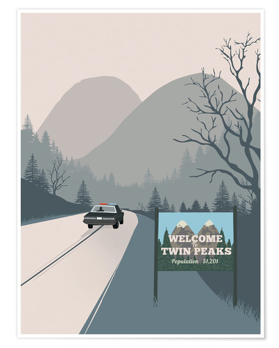 Poster Welcome to Twin Peaks