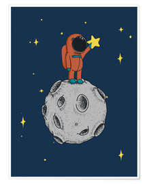 Poster  Catching stars - Kidz Collection