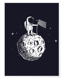 Poster  Le premier homme sur la lune - Kidz Collection