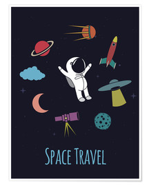 Poster  Space Travel - Kidz Collection