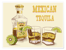 Poster  Tequila Drink