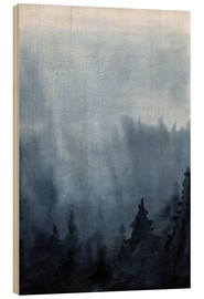 Bois  Mist over the forest