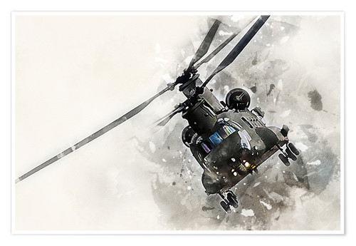 Poster Chinook