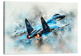 Toile  Flanker - airpowerart
