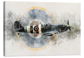 Toile  Spitfire AB910 - airpowerart