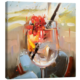 Toile  5 heures - Johnny Morant