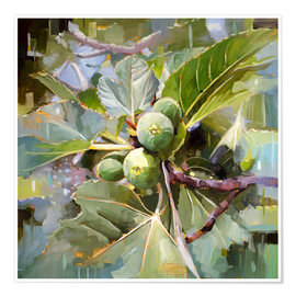 Poster Figues sauvages siciliennes