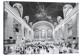Toile  Grand Central Terminal, New York (monochrome) - Sascha Kilmer