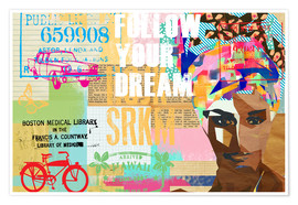 Poster Collage, Follow your dream